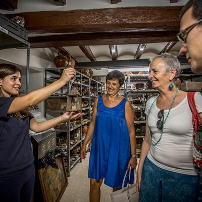 Museu d'Alcover - Visita als magatzems