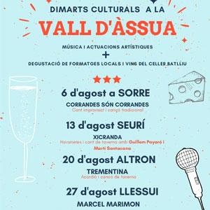Dimarts Culturals a la Vall d'Àssua, 2019