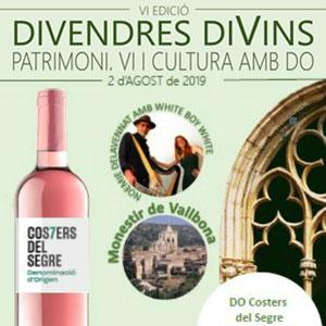 Divendres DiVins a Vallbona de les Monges, 2019
