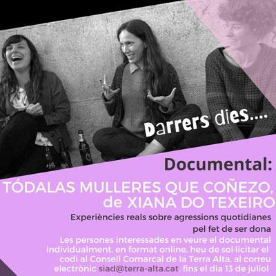 Documental 'Tódalas mulleres que coñezo' de Xiana Do Texeiro