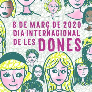 Dia Internacional de les Dones a Lleida, 2020