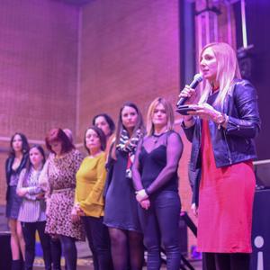 Lectua del manifest feminista, la Pobla de Mafumet, 2020