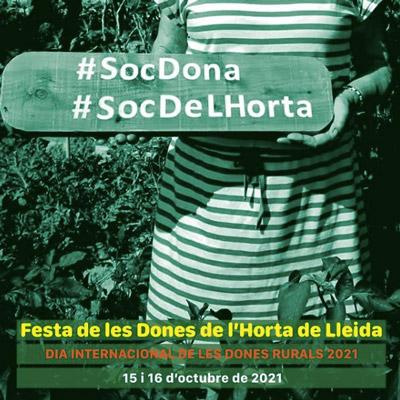 Festa de les Dones de l'Horta de Lleida, Dones de l'Horta, Lleida, 2021