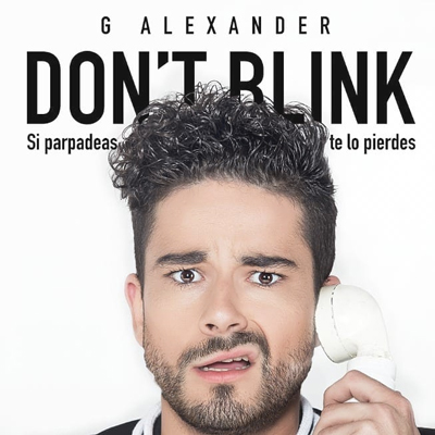Espectacle 'Don't Blink' de G. Alexander