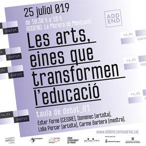 Jornada 'Les arts, eines que transformen l'educació'