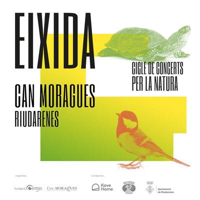 Eixida, Cicle de concerts benèfics per la natura, Fundació Emys, Riudaneres, 2021