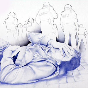 Exposició 'El procés a punta de bic' de Jordi Magrià