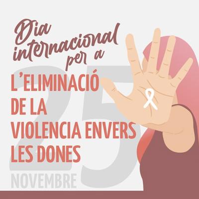 Dia Internacional per l'eliminació de la violència envers les dones a Valls, 2020