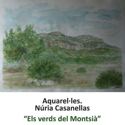 Exposició 'Els verds del Montsià' de Núria Casanellas