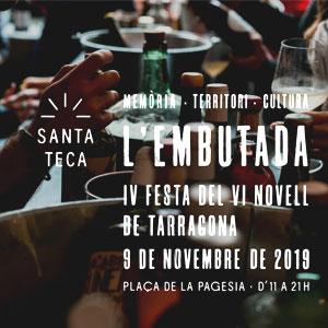 Embutada, la Festa del Vi Novell de Tarragona, 2019