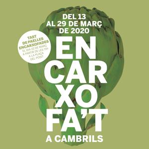 Jornades Gastronòmiques Encarxofa't - Cambrils 2020