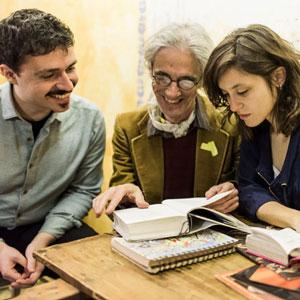 Enric Casasses, Maria Mauri i Daniel Ariño