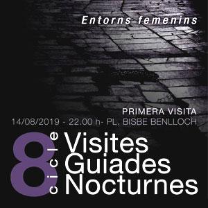 Visites Guiades Nocturnes a Guissona, 2019