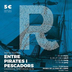 Visita teatral 'Entre Pirates i Pescadors' - La Ràpita 2019
