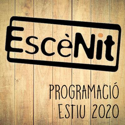 Escènit, Programació d'estiu, teatre, Girona, 2020