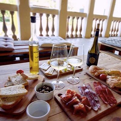 Esmorzar de pagès, Bodegues Ca n'Estella. Sant Esteve Sesrovires, 2020
