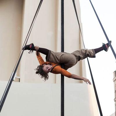 Espectacle de circ 'Iter' d'Infra·poètic·circ