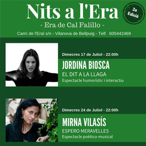 Les Nits a l'Era, Vilanova de Bellpuig, 2019