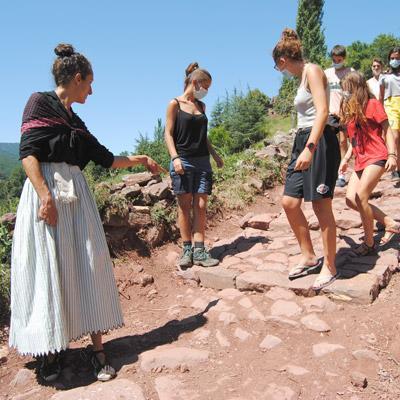 Visita teatralitzada 'Volta pels Camins amb l'Esperanceta', Museu de Camins, 2021