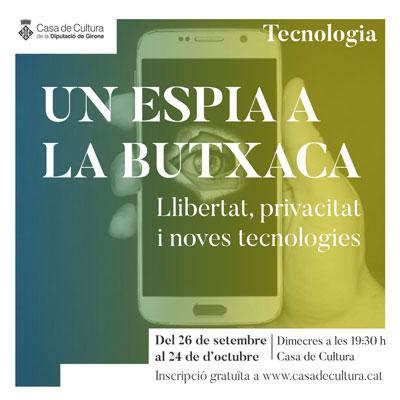 Cicle 'Un espia a la butxaca' a la Casa de Cultura, Girona, 2020