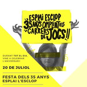 35è aniversari Esplai Esclop de Vila-seca, 2019