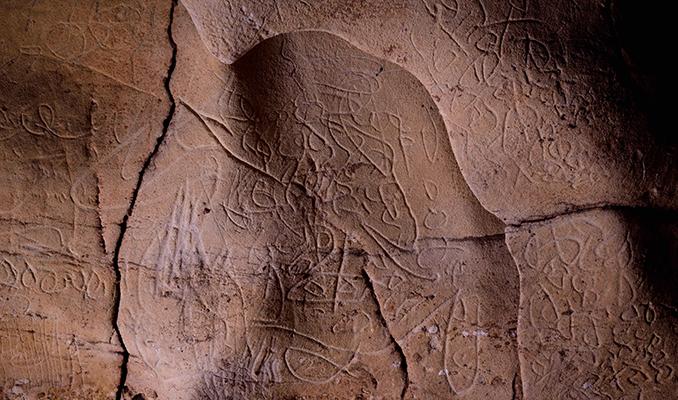Pintures rupestres de l'Espluga de Francolí.