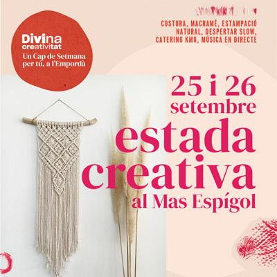 Estada Creativa 'Divina Creativitat', la Divina, Empordà, 2021