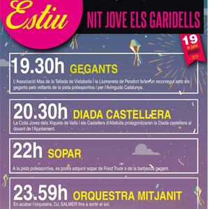 Nit Jove, Els Garidells, 2019