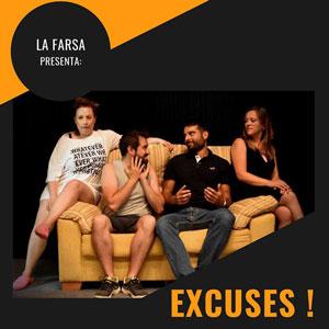 Teatre 'Excuses!' - La Farsa de Gandesa