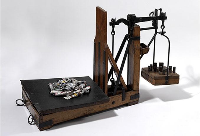 Exposició 'No pintar-hi res' de Benet Rossell