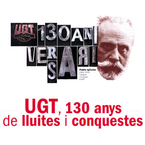 Exposició 'UGT, 130 anys de lluites i conquestes'