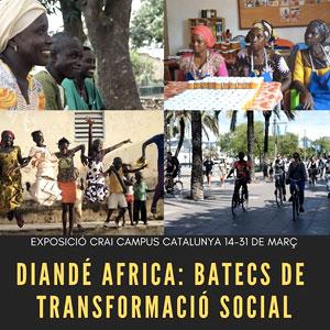 Exposició 'Diandé Africa: batecs de transformació social'