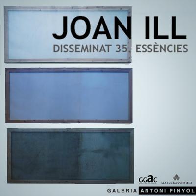 Exposició 'Disseminat 35. Essències' de Joan ill a la Galeria Antoni Pinyol, Reus, 2020