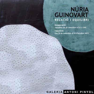 Exposició 'Relació i Equilibri' de Núria Guinovart a la Galeria Antoni Pinyol, Reus