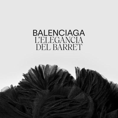 Exposició 'Balenciaga. L'elegància del barret' al Museu del Disseny, Barcelona, 2021