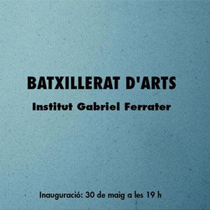 Exposició de la darrera promoció d' alumnes del Batxillerat Artístic de l'Institut Gabriel Ferrater a Reus, 2019