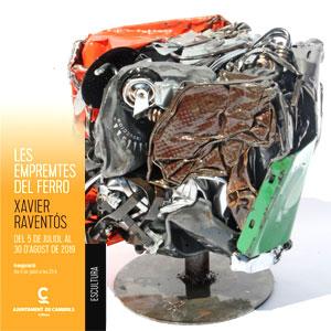 Exposició 'Les empremtes del ferro' de Xavier Raventós