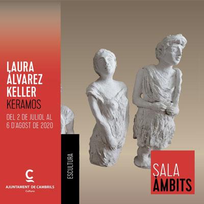 Exposició 'Keramos' de Laura Àlvarez Keller al Centre Cultural Municipal, Cambrils, 2020
