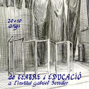 Exposició '20+10 anys de Teatre i Educació a l'institut Gabriel Ferrater' al Centre de Lectura, Reus, 2020