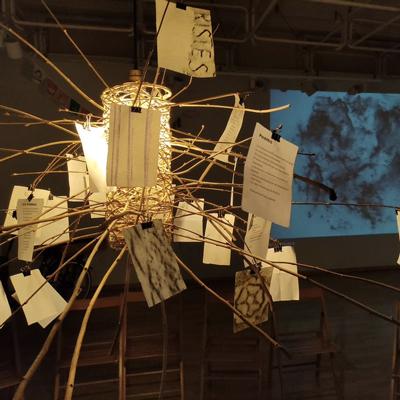 Exposició 'Lligams, mirades que connecten', Còdol Educació, 2021