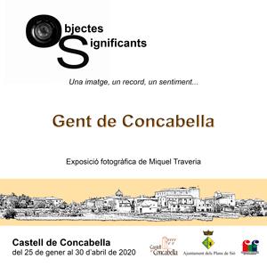Exposició 'Gent de Concabella' al Castell de Concabella, Concabella, 2020