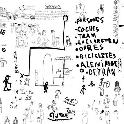Exposició 'Llegir una plaça', Barcelona, 2020