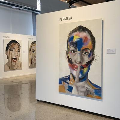Exposició 'Expressions. Homenatge a la dona' al Tinglado 1, Tarragona, 2020