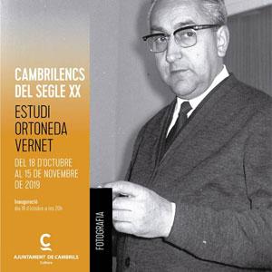 Exposició 'Cambrilencs del segle XX' de l'Estudi Ortoneda Vernet