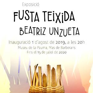 Exposició de Fusta Teixida de Beatriz Unzueta