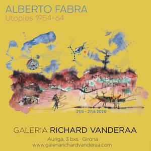 Exposició 'Utopies' d'Alberto Fabra a la Galeria Richard Vanderaa, Girona, 2020