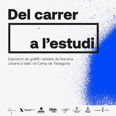 Exposició 'Del carrer a l'estudi' al Museu de Valls, 2021