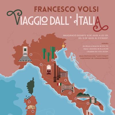 Exposició 'Viaggio dall'italia' de Francesco Volsi