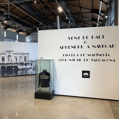 Exposició 'Vent de Dalt. Escuela de Marineria del Nàutic de Tarragona' al Tinglado 1, Tarragona, 2020