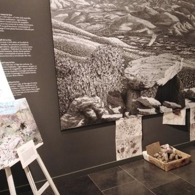 Exposició 'El museu és una escola' a l'Espai Ermengol, La Seu d'Urgell, 2021